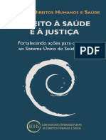 DIREITO À SAÚDE E A JUSTIÇA