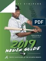 2019 Gwinnett Stripers Media Guide