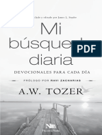 222-37393 Mi Busqueda Diaria A.W. Tozer