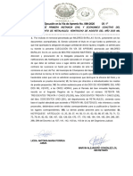 6. RESOLUCION DE TRAMITE- EJECUCION VIA DE APREMIO CREDITO HIPOTECARIO