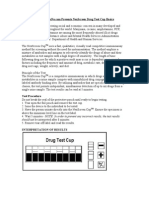 Drug Test Cup Basics