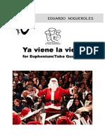 Ya viene la vieja - Euphonium-Tuba Quartet - arr. Eduardo Nogueroles
