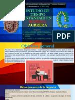 ESTUDIO DE TIEMPO ESTÁNDAR