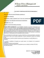 SOLICITUD DE IMPULSO PROCESAL 2020 - 093