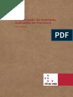 Literarização da Oralidade Oralização da Literatura - Jean Derive.pdf
