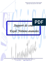 Support de cours Excel Niv2