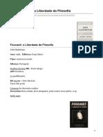 estantevirtual.com.br-Livro Foucault a Liberdade da Filosofia(2).pdf