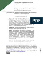 El capitalismo del holding transnacional en el sector forestal chileno