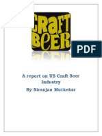 Report on Craft Beer Industry in USA