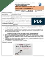 Emprendimiento 2do P2 Semana 16 Proy. Nutriciom