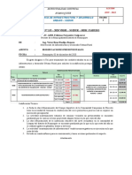 modelo de movimiento de presupuesto
