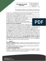 PRG-SST-005 PROGRAMA DE HIGIENE INDUSTRIAL.