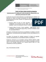 COMUNICADO-30-2020-DIGESA-MINSA