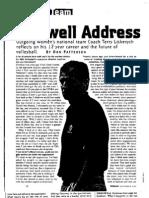 Farewell Address