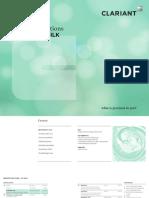 Clariant Brochure Aristoflex Silk Formulation Booklet 2018 EN