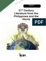 Copy of Quarter 2 Module 2 21st Century Literature