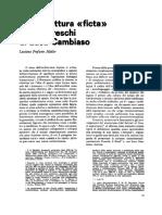 Profumo Mueller, L'architettura «ficta» negli affreschi di Luca Cambiaso