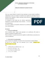 Chapitre1 Analyse d'erreurs