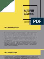 • Materiales eléctricos •