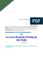 Ecriture Hypnotic
