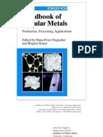Handbook of Cellular Metals