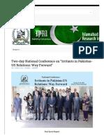 irritants-in-pakistan-us-relations(IPRI)