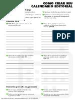 Como Criar seu Calendário Editorial