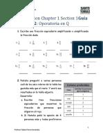 Guía 2 - Operatoria en Q