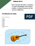 Material violão