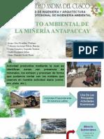 IMPACTO AMBIENTAL DE LA MINERÍA ANTAPACCAY