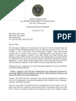 MDOC Response to Audit Report.pdf
