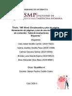 Informe Sesion 6 Informatica