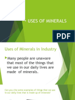 USES OF MINERALS (1)