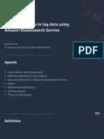 Detect anomalies in log data using Amazon Elasticsearch Service