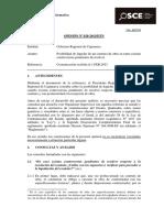 Opinión OSCE 028-13 - PRE - Controversias Durante Liquidación de Obra