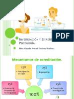 Investigación y estadística en psicología 1