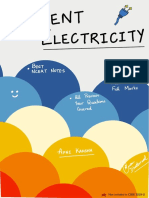 Current Electricity NCERT Notes + PYQ's.pdf
