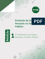 Mod1 O Tratamento de Dados Pessoais no Setor Público