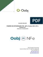 Manual de Integração TXT e-Sales-Oobj - NF-e Versão 4.00 - CF-e Versão 0.07