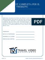 Trekking - Checklist - Travel Video Experience