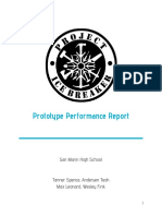 project icebreaker prototype performance report