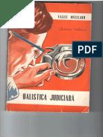 Balistica Judiciară Măcelaru I