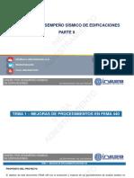 DISEÑO POR DESEMPEÑO SÍSMICO-PARTE 2