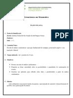 Plano de Aula - analise combinatoria simples - contagem