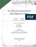 1987 - Le Dimensionnement Des Digues à Talus - EDF