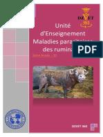 S9 - Maladies Parasitaires Des Ruminants-DZVET360-Cours-veterinaires