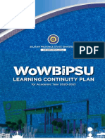 WoW-BiPSU-LEARNING-CONTINUITY-PLAN