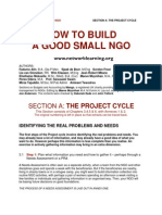 NGOs a Project Cycle