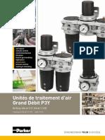 Parker_Pneumatic_Unites_de_traitement_dair_Grand_Debit_P3Y_PDE2631TCFR