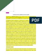 LEGISLACION LABORAL EN ECUADOR